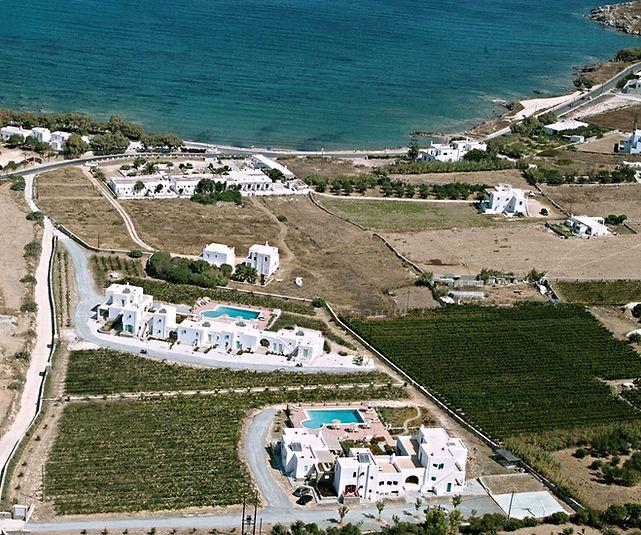 louer une villa à Paros