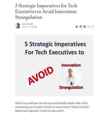 5 Strategic Imperatives for Tech Executi