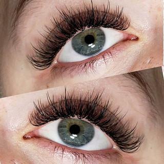 Hybrid lashes! I love that I can create