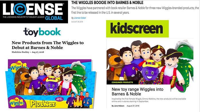 Kidscreen and License Global Articles.jp