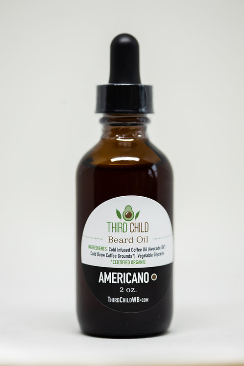 Beard Oil 2 oz - Americano