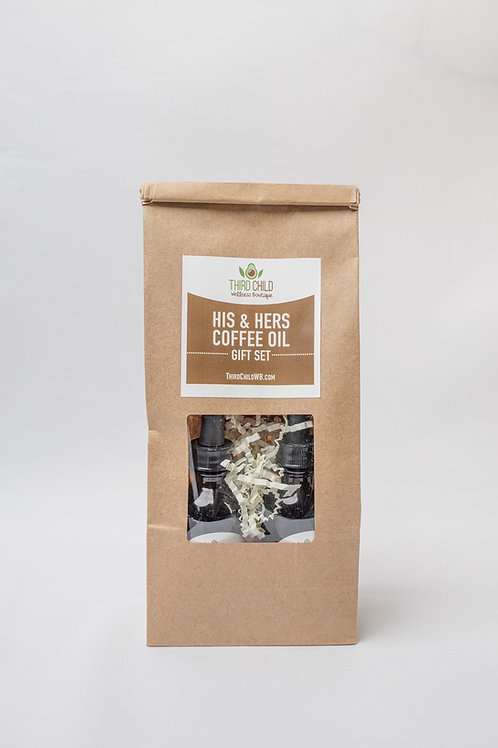 His and Hers Coffee Oil Gift Set