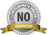 Low Flat Rates. No Hidden Fees