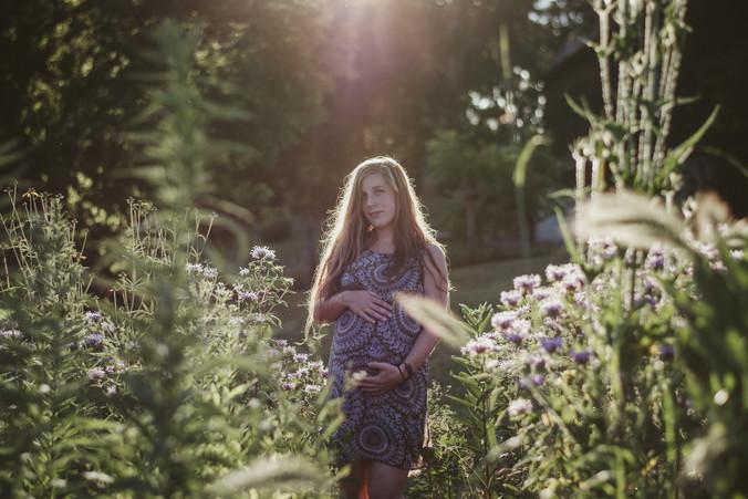 maternity photography | white river state park, burlington, wi
