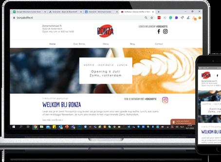 Bonza logo en website zijn live!