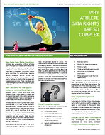 athlete fan fitness wearable data analytics technology tech privacy property rights law