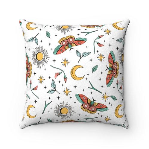 Moons & Moths Pillow