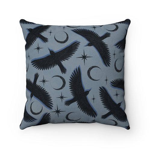 Raven Dusk Pillow