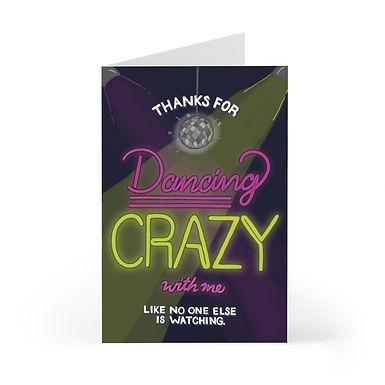 Dancing Crazy Greeting Card Pack