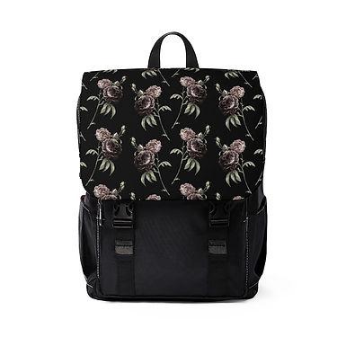 Vintage Floral Shoulder Backpack