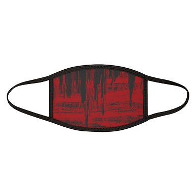 Red Grunge Paint Mask