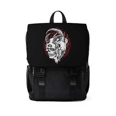 Two Faced Skull Shoulder Backpack