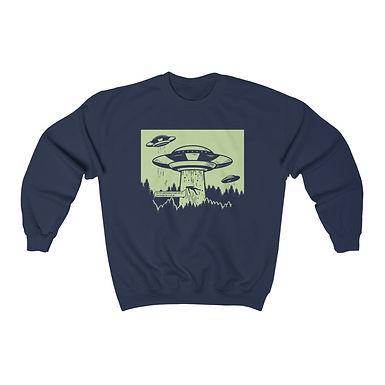 Take Me Plz Navy Sweatshirt
