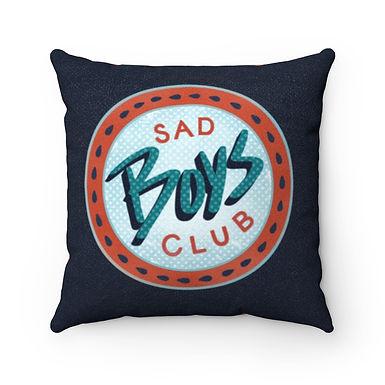 Sad Boys Club Color Pillow