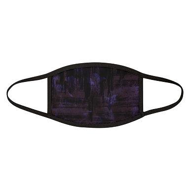Purple Grunge Paint Mask