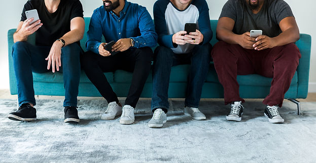 group-of-diverse-men-using-mobile-phone-