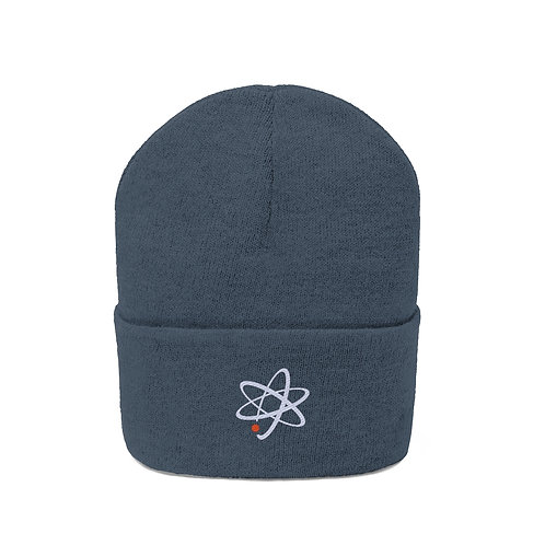 Atomic Embroidered Beanie