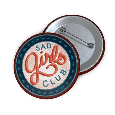 Sad Girls Club Color Pin Buttons