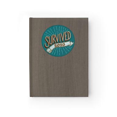 Survived 2020 Teal Journal
