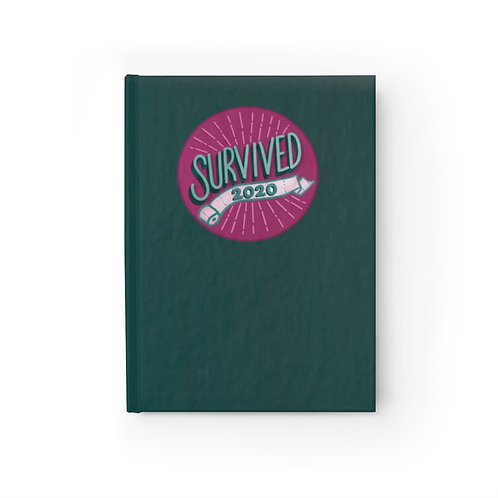 Survived 2020 Purple/Green Journal