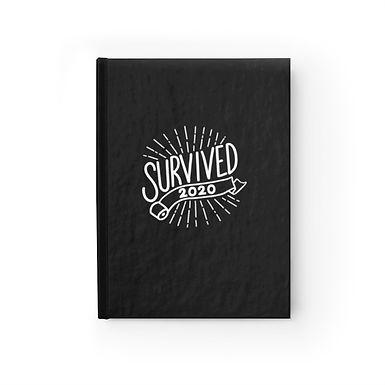 Survived 2020 Dark Journal