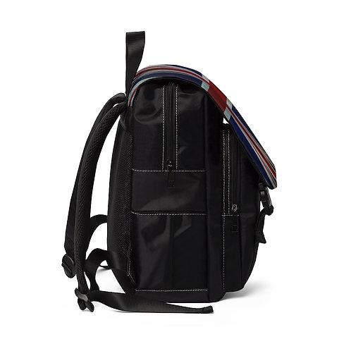 Grunge Union Jack Shoulder Backpack