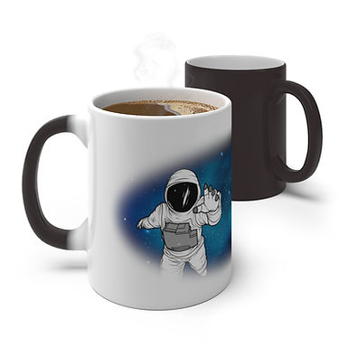 Reach for the Stars Color Changing Mug