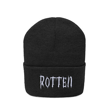 Rotten Embroidered Beanie
