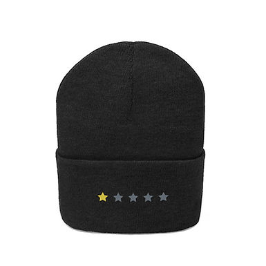 1/5 Stars Embroidered Beanie