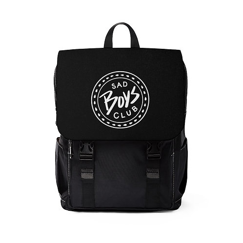 Sad Boys Club Black Shoulder Backpack