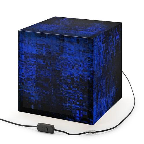 Blue Cyberpunk Pattern Lamp