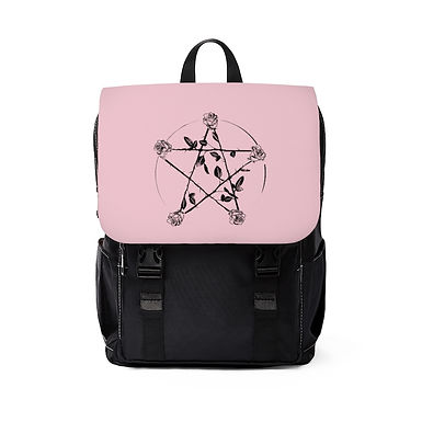 Rosy Pentagram Shoulder Backpack