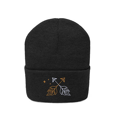 Arrows Embroidered Beanie