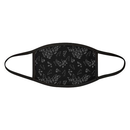 Black Foliage Mask