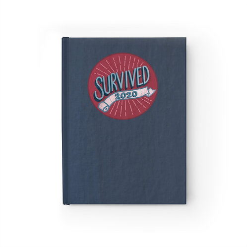 Survived 2020 Red/Navy Journal