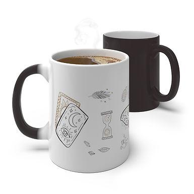 Mystic Elements Color Changing Mug