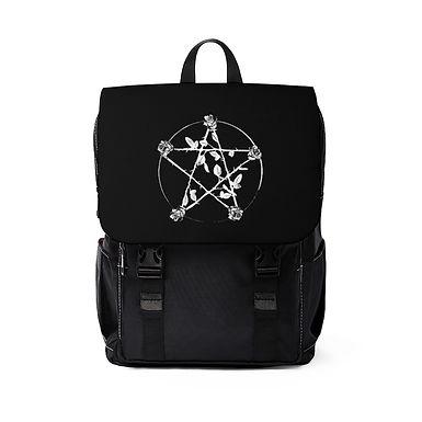 Rose Pentagram Shoulder Backpack