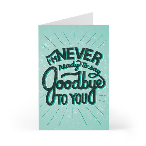 Never Ready Greeting Card Pack