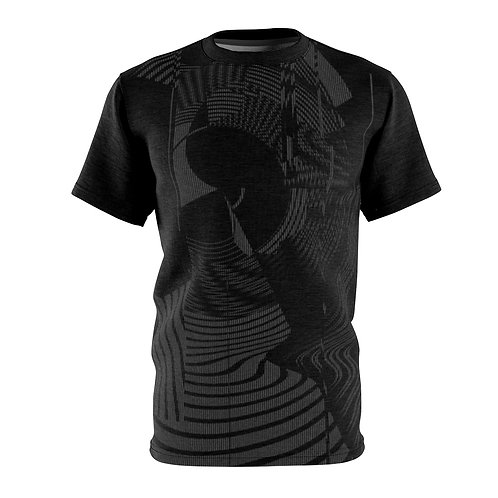 Abstract Black Pattern Tee