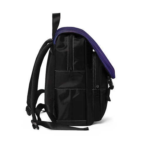 Feather Galaxy Shoulder Backpack
