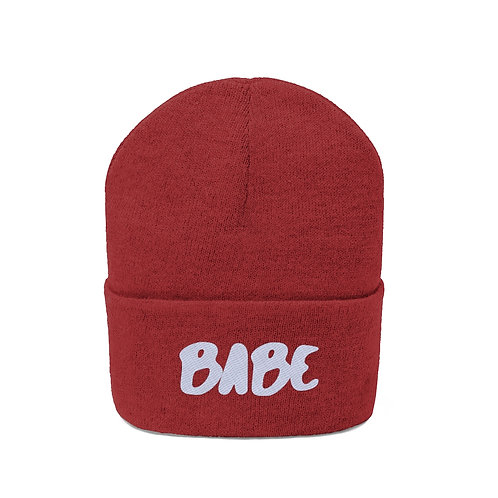 Babe Embroidered Beanie