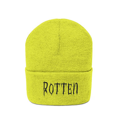 Rotten Acid Embroidered Beanie