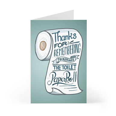 Thanks for the TP Greeting Card Pack