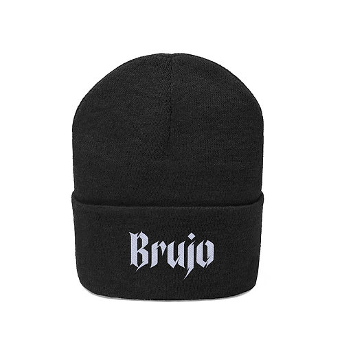 Brujo Embroidered Beanie