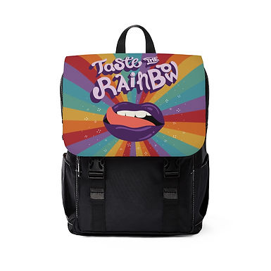 Taste the Rainbow Shoulder Backpack