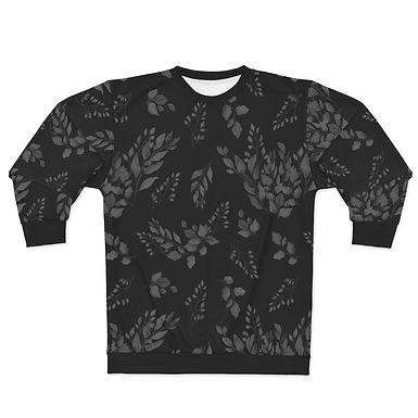 Black Foliage Sweatshirt