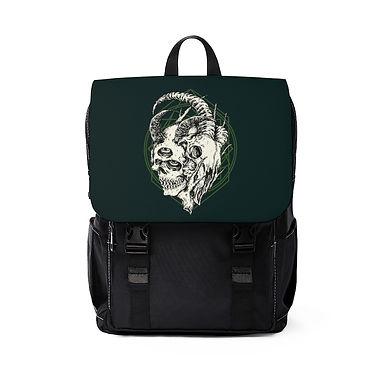 Two Faced Emerald Shoulder Backpack