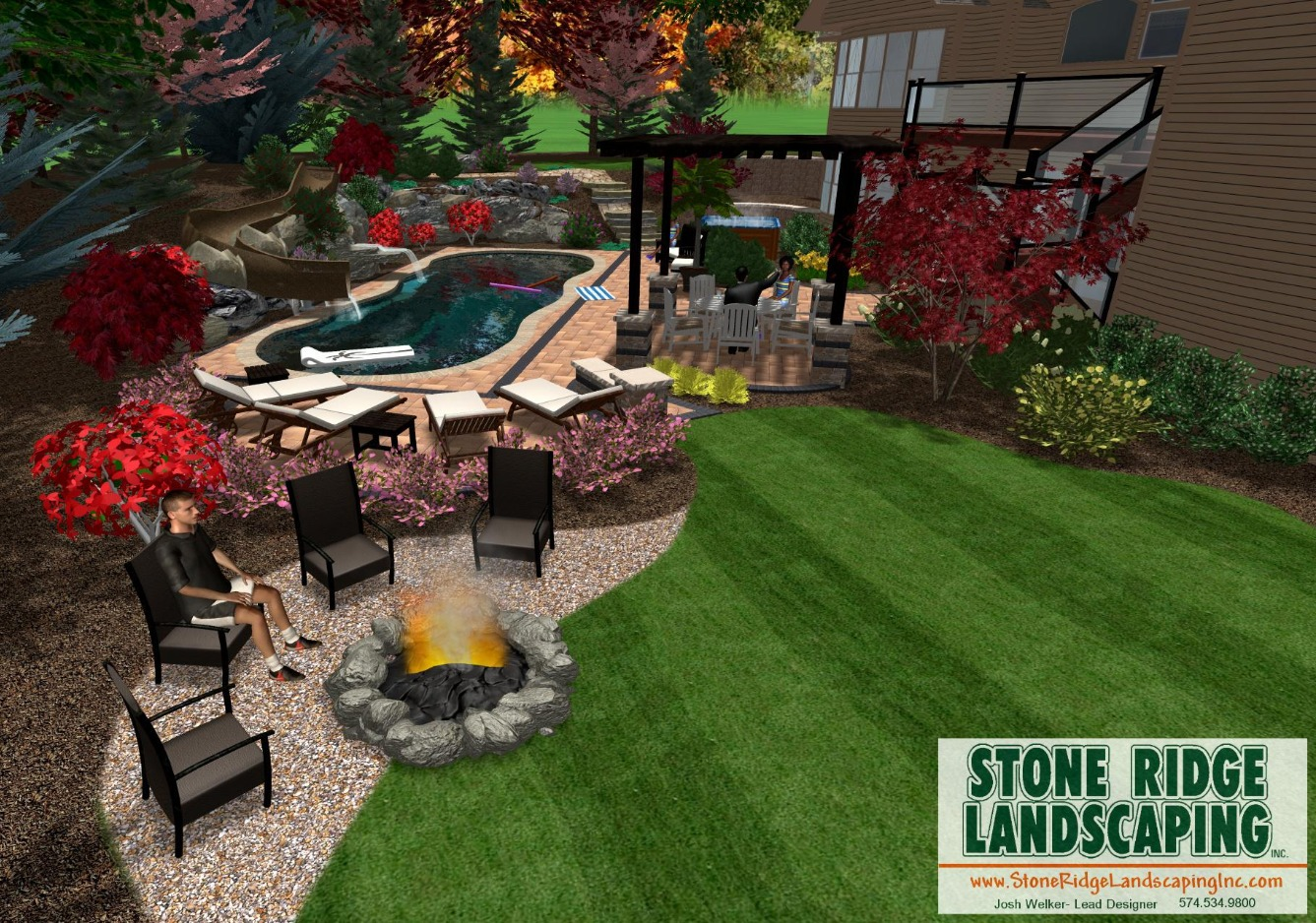 Landscape Design- Pools