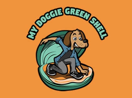 My Doggie Green Shell - 100g