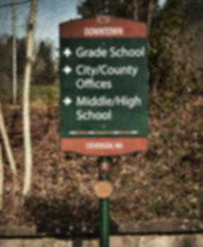 Stevenson Wayfinding by Rock Cove Design
